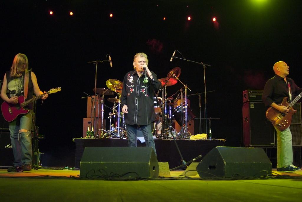 Концерт Nazareth в Тюмени!